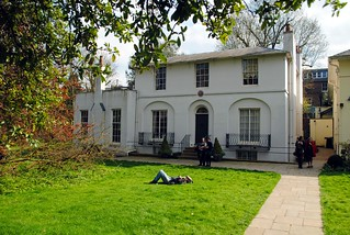Keats House and front garden