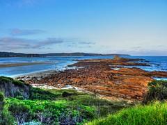 Overview (elphweb) Tags: river waterway water ocean sea nsw australia hdr highdynamicrange rocks rock rocky rockformation seaside