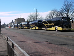 Parks of Hamilton at Ayr (preselected) Tags: bus coach park hamilton volvo b11r jonkheere ayr