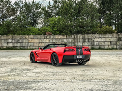 IMG_9418-Edit-Edit.jpg (Skip Cox) Tags: corvette chevy stingray torch red c7 topless convertible black sexy hot cool fast vette z51 z06 automotive photographer