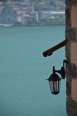a lamp (Hayashina) Tags: monteisola italy lamp lake