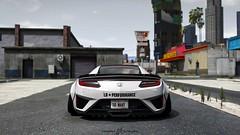 Grand Theft Auto V (TheFaNTaS11) Tags: acura nsx honda 2016 libertywalk liberty walk nc1 grandtheftautov gta5 gta losangeles california
