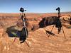 Our Bots, doing their thing.  :) (pchcruzr) Tags: arizona az landscape page roadtrip horseshoebend