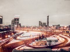 Moscow (WestMaue) Tags: moscow russia city citylights lights light cityscapes cityscape longexposure winter buildings evening москва россия зима город вечер