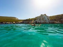 GOPR8665 (urbanlifelens) Tags: mare sea seascape alghero alguer sardegna sardinia underwater fishes pesci seastar stellamarina coast costa sky cielo sun sole