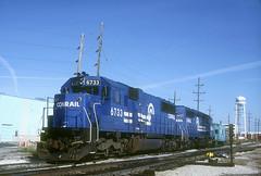 Conrail SD50 6733 (Chuck Zeiler) Tags: cr conrail sd50 6733 railroad emd locomotive franklinpark train giballbach chz