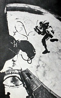 Space Walk Sometime In The 1960's