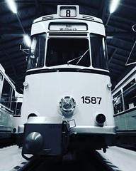 Gotha (Ellenalu86) Tags: oldtimer publictransport öffentlicherverkehr traveling reisen tram germany saxony blackwhitephoto blackwhite trammuseumdresden trammuseum snapshot deutschland sachsen dresden schwerzweissfoto schwarzweiss strasenbahngotha strasenbahnmuseumdresden strasenbahnmuseum rumknipsen