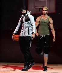 . EohB&Mayco . #Modulus #Catwa #Straydog #MGmen's #ValeKoer #Kalback #K&S #MOM (Crayolas Clothes) Tags: modulus catwa straydog mgmens valekoer kalback mom gay guy men male mate dude buddy friends together couple goal mens mates belleza avatars studs gym basquet ball dark brunette blonde sl slfashion slblogger fashionmen fashiondude secondlife secondlifefashion power hoodie pants tank short shoes sport game games people