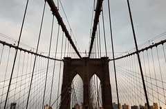Brooklyn Bridge (manuelsorrenti) Tags: brooklyn newyork love brooklynbridge view sunset like prefer bridge sky