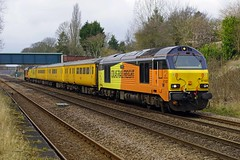 FERRIBY 240318 67027 (SIMON A W BEESTON) Tags: ferriby network rail colas stella charlotte 67027