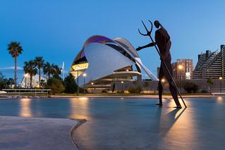 Palau de les Artes Reina Sofia - Ciutat de les Arts i les Ciències, Valencia, Spain