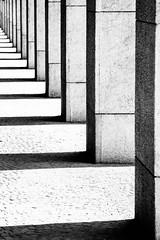 Rome, Italy (gstads) Tags: rome roma italy italia italian line lines architecture repetititon shade shadow shadows eur blackandwhite bw monochrome noiretblanc