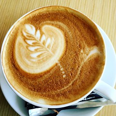 Old Town, Prague (Prague In Four Seasons) Tags: coffee coffeeart barista prague citylife morning shot cup cappuccino