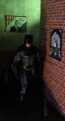 Some Company on Patrol (MaxxieJames) Tags: batman dc dcu gotham barbie ken justice league mattel collector diorama ben affleck bruce wayne