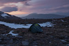 Night on a Bare Mountain (Andrew G Robertson) Tags: scotland torridon wild camp mountain meall garbh bidein ghlas thuill an teallach sunset dundonnell