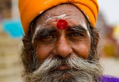 "Varanasi Sadhu (El-Branden Brazil) Tags: varanasi india indian ganges ganga ceremony hindu hinduism asian asia sacred holy mystical ""south asia"" sadhu"