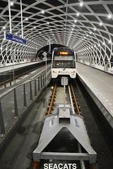 Rotterdam Elektrische tram (RET) Metrotype R Bombardier Flexity Swift RSG3 (Randstadrail) @ Haags Startstation Erasmuslijn (HSE) Den Haag (Seacats) Tags: ret metro flexity hse bombardier