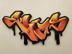 3D graffiti lasercarved in wood (40 cm wide)   #minigraffiti #graffitisign #3dgraffitisign #3dgraffiti #3dgraff #3dgraffitiart #wallporn #graffitiporn #graffitilife #graffitilifestyle #art #artwork #artworks #3dartwork (Enias..) Tags: minigraffiti graffitisign 3dgraffitisign 3dgraffiti 3dgraff 3dgraffitiart wallporn graffitiporn graffitilife graffitilifestyle art artwork artworks 3dartwork