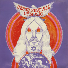 Jesus Festival Of Music (Jim Ed Blanchard) Tags: god religion religious christian lp album record vintage cover sleeve jacket vinyl private pressing weird funny strange kooky ugly thrift store novelty kitsch awkward hippy psychedlic