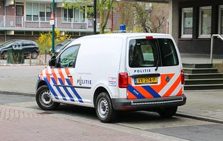 Dutch police Volkswagen Caddy
