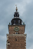 The clock tower (Vagelis Pikoulas) Tags: krakow poland tower town old square sky cloudy architecture tamron 70200mm vc november autumn 2017 mood canon 6d