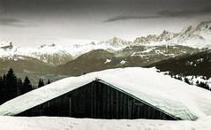 Combloux lomography turquoise 02 2018015 (Patrick.Raymond (4M views)) Tags: alpes montagne haute savoie combloux la cry neigne froid gel hiver nikon argentique lomography turquoise