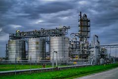 Industrial Landscape (Peet de Rouw) Tags: industry industrial industrynight botlek chemieweg hexion fabriek factory fujifilmx100 peetderouw denachtdienst holland netherlands portofrotterdam