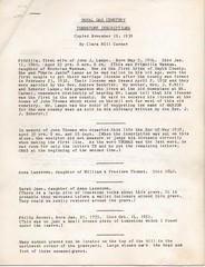 Roya Oak Cemetery Tombstone Inscriptions Page 1 (mwlinford) Tags: royal oak presbyterian church marion virginia smythcounty