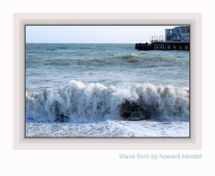Wave Form by howard kendall (howardkendall42) Tags: howardkendall42 waveform tide waves seaside