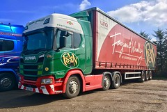 (richellis1978) Tags: truck lorry haulage transport scania r r450 fagen whalley po67vde