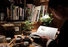 Valentin (Lu Jie Photography) Tags: japan kyoto tea japanese traditional travel culture reading