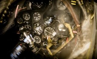 Dassault Marine Etendard's cockpit