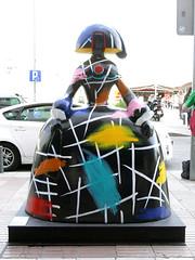 """Menina Escoté"", de María Escoté (Madrid) (Juan Alcor) Tags: meninaescoté maríaescoté calleraimundofernandezvillaverde meninasmadridgallery madrid menina meninas españa spain"