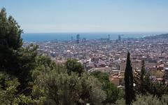 The view from Park Güell (bertrandwaridel) Tags: 2018 april barcelona barcelone catalogne catalonia catalunya cataluña espagne parcgüell spain spring catalogna