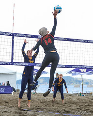 PAC-12 North Invitational 2018-FT4I2177 (Pacific Northwest Volleyball Photography) Tags: beachvolleyball ncaa pac12 pac12bvb alkibeach seattle