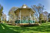 Bandstand In the Park (Evoljo) Tags: thetowngardens swindon wiltshire park flowers bandstand grass sky trees nikon d500 hdr