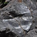 Rhyodacite vitrophyre (Llao Rock Rhyodacite, Holocene, ~7.8-7.9 ka; roadcut near Llao Rock, margin of Crater Lake Caldera, Oregon, USA) 28 thumbnail