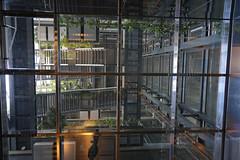 2018-04-FL-183477 (acme london) Tags: aluminiumreflectors barcelona fira hotel interior jeannouvel lobby renaissancehotelfira skylight spain suspendedceiling