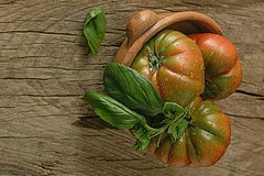 Food (pasquale di marzo) Tags: food pomodori basilico 50mm colore macro aprile 2018