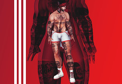 FILTH (Nath Baxton) Tags: xenials men only monthly mom kinky identity gay noche vale koer secondlife second life red 3d avatar belleza catwa