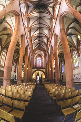 Im Gotteshaus (joern_ribu) Tags: altstadt heidelberg kirche church gotik gothic cathedral religion