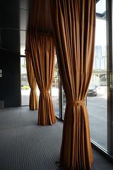 2018-04-FL-183500 (acme london) Tags: barcelona curtain entrance fira furniture hotel interior jeannouvel leather leathercurtain lobby renaissancehotelfira spain windscreen