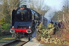 SUMMERSEAT 200210 71000 (SIMON A W BEESTON) Tags: elr eastlancashirerailway summerseat ramsbottom rawtenstall 71000 dukeofgloucester