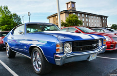 1971 Chevy Chevelle SS (Chad Horwedel) Tags: 1971chevychevelless chevychevelless chevrolet chevy chevelless classic car hrpt17 bowlinggreen