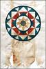 teabag mandala 2 (piktorio) Tags: berlin germany mandala aquarell painting teabag paper experimental montage piktorio four eight circle square