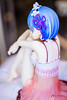 Re:ZERO -Starting Life in Another World- Rem Birthday Lingerie Ver. (GabrielVH) Tags: 17scale 60mm 7d blueeyes bluehair bra camisole canon cute lingerie pvcfigure panties pantsu pillow rezero rem ribbons flickrsafe sitting