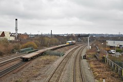 66012/67003 (Lewis_Hurley) Tags: westmidlands england uk birmingham washwoodheath 6k50 doublehead diesel freight engineers skip shed dbcargouk arriva db dbschenker ews class66 66102 66 67003 67 class67 train railway