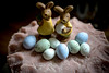 Happy Easter (judy dean) Tags: judydean 2018 spring easter simnelcake marzipan bunnies eggs