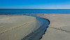 A river on a beach (|Sarah|) Tags: sand osborne river water seascape southaustralia photography perspective beach